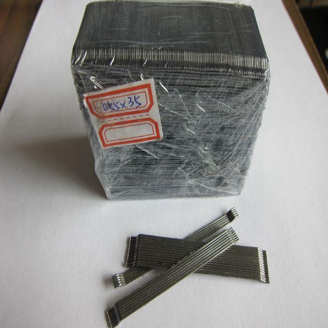 Натуральная части клееный стальной волокно 80/60 для взрослых