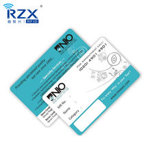 Access Control Long Read Range Alien H3 Custom UHF RFID Card For Identification