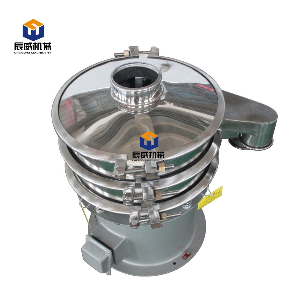 High-yield stainless steel vibrating sifter for pharmaceuticals industry