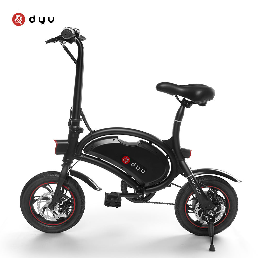 New function 12 inch small wheel folding electric bicycle DYU D2