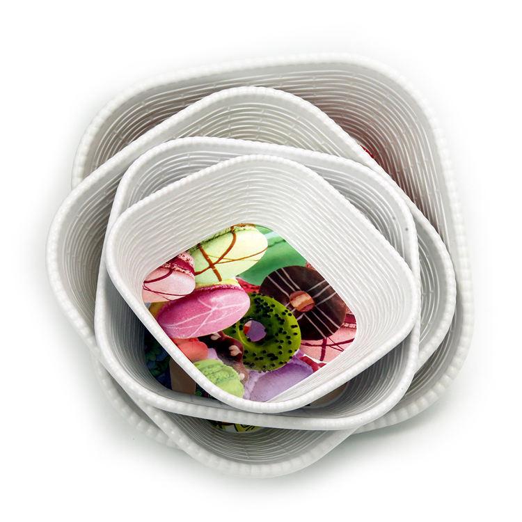 En iyi seçin boya gıda sınıfı abs tepsi plastik tabaklar