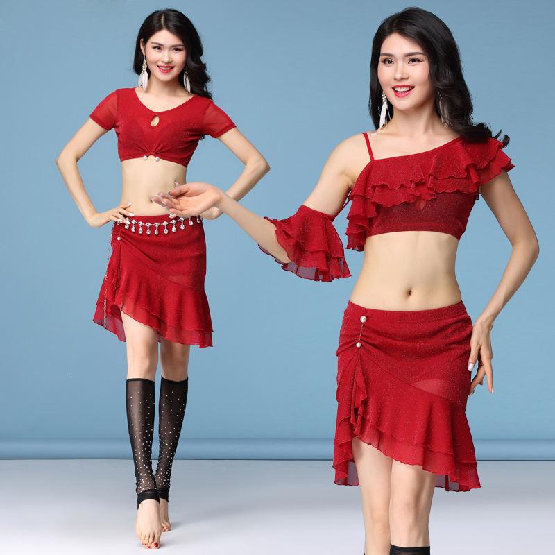 Gold Egyptian Belly Dance Egypt Dancing Costume Isis Wings Dance Wear Wing Ne ga