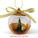Glass Ornaments Custom Wholesale Clear Christmas Glass Ball Ornaments