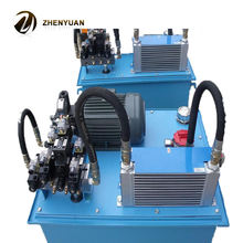 Factory direct processing custom hydraulic system to map processing hydraulic power unit hydraulic station