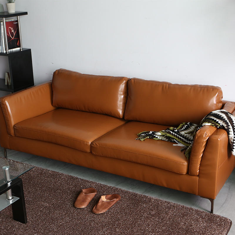 Chinese factory cheap price relaxing leather sofa modern