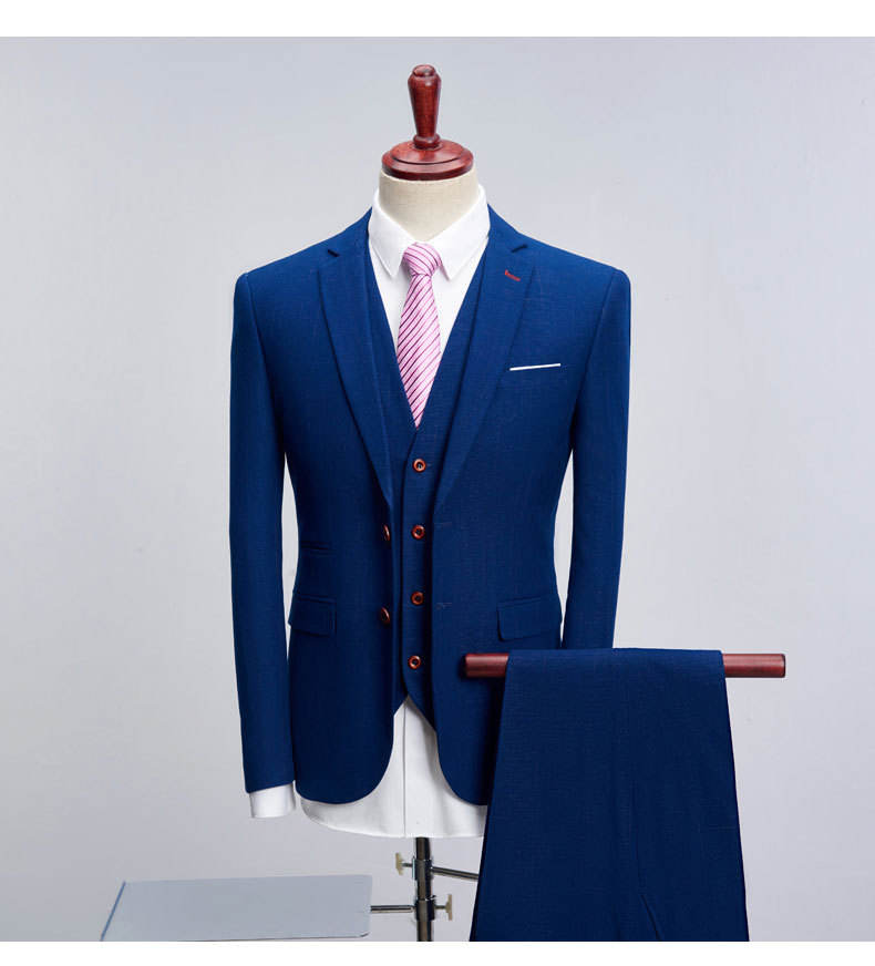 Bespoke Man Suit Formal Style Hot Sale Design