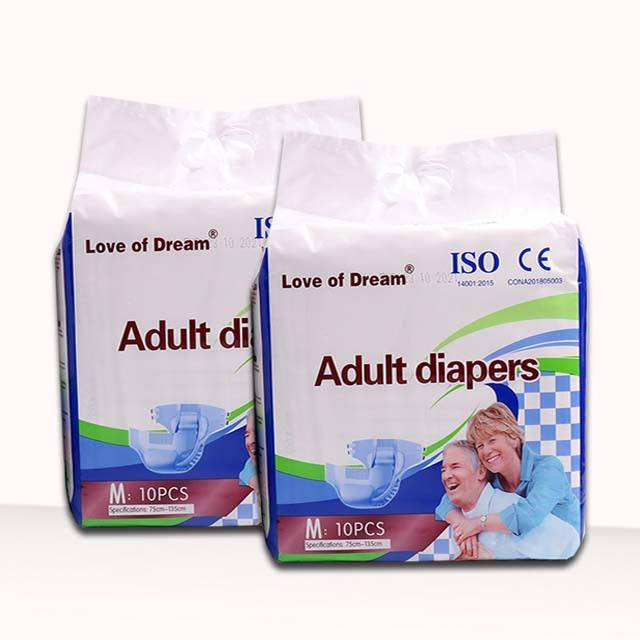 Adult diapers of high quality OEM pants adult diapers manufacturer