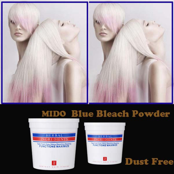 Lightening up to 8 degree hair bleaching powder for hair coloring