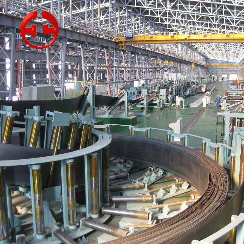 HG377 welded erw pipe mill tube forming line making machinery