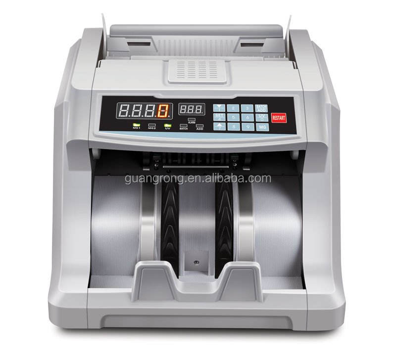 GR-6600 UV/MG Intelligent money machine for sale with LED Screen