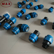 Electrical Water Pipe Compression Fitting HDPE