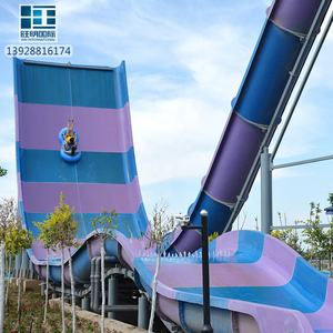 Wholesale Water Park Equipment Boomerang Water Slides Manufacturer