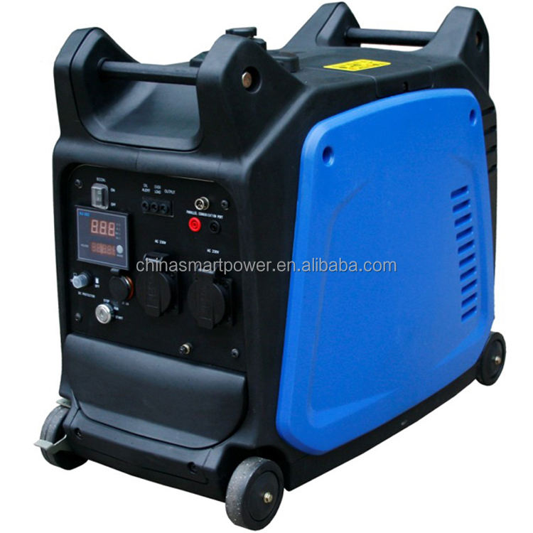 Smart Power tragbare 3kw gas powered inverter generator