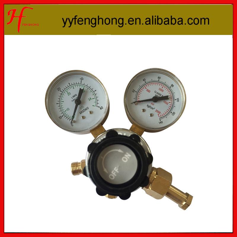 で20年の経験ヤマトタイプ140kgf co2減圧器エアレギュレータ