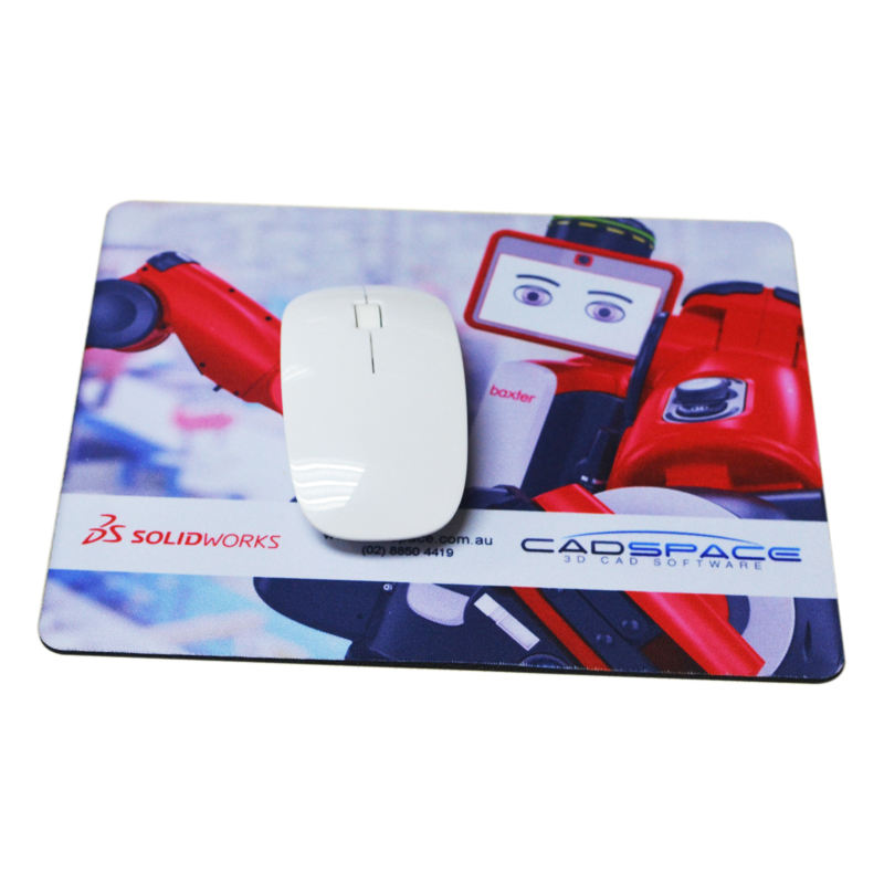 Top selling rechthoek antislip natuur rubber custom gaming mousepad