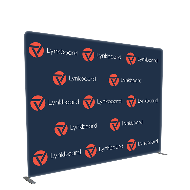 Custom size 8x8 10x8 photo booth backdrop