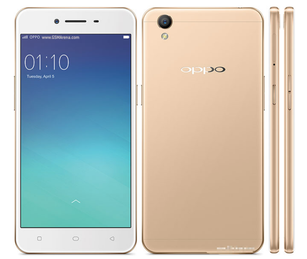 Original OPPO A37 Mobile Phone IPS LCD 5.0 inches Android 5.1 Quad-core 2+16 GB Unlocked Cell phone 4G cheap mobilephone