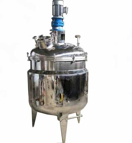 500L stainless steel agitated tank reactor,batch reactor vessel price