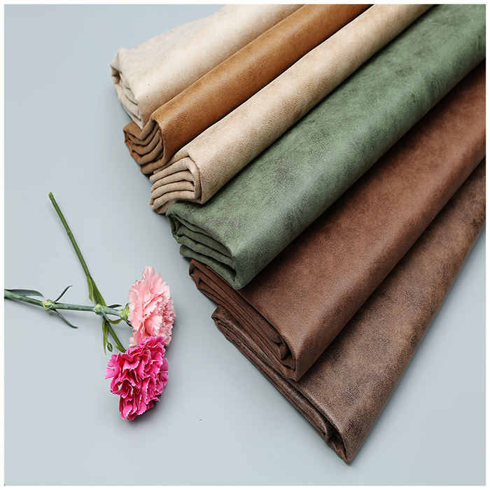 Quality Chinese products Suede fabric bronzing suede bonded with fleece