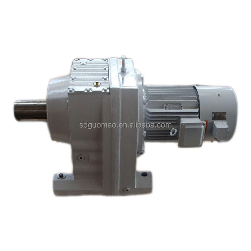 R/S/K/F serial gear motor - helical-bevel gearbox / F series parallel helical gearbox
