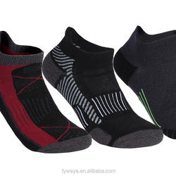 FYCC-1801 coolmax Breathable men compression ankle quick dry running socks