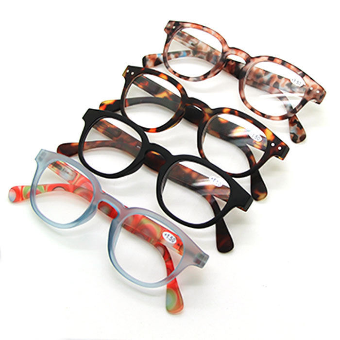 Wholesale Italy Designed Fashion Unisex Plastic Anti-Blu-Ray Reading Glasses