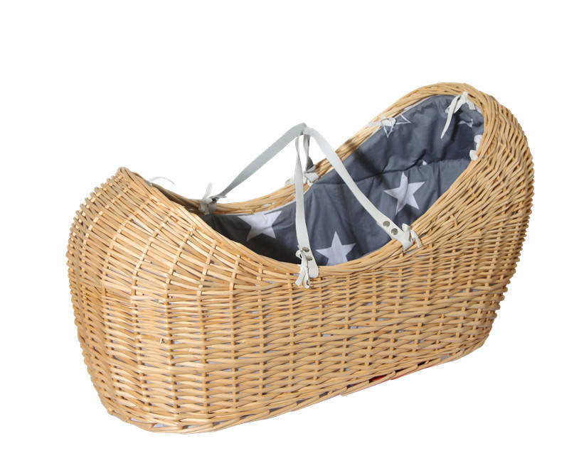 Popular 100% Handmade Wicker Baby Gift Basket/Wicker Basket Malaysia