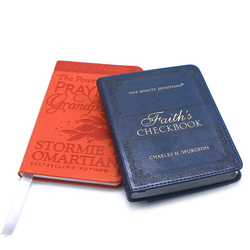 High Quality Bible Paper Printing PU Leather Bible Covers Mini Bible Printing Service