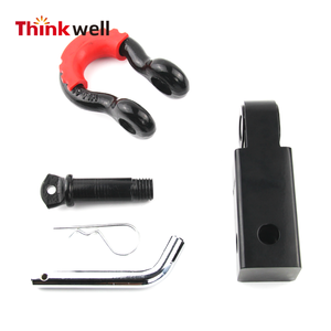 Thinkwell 4WD 5T ผู้ใช้ Recovery TOW Bar Hitch Receiver 3/4 ''D-Ring Shackle