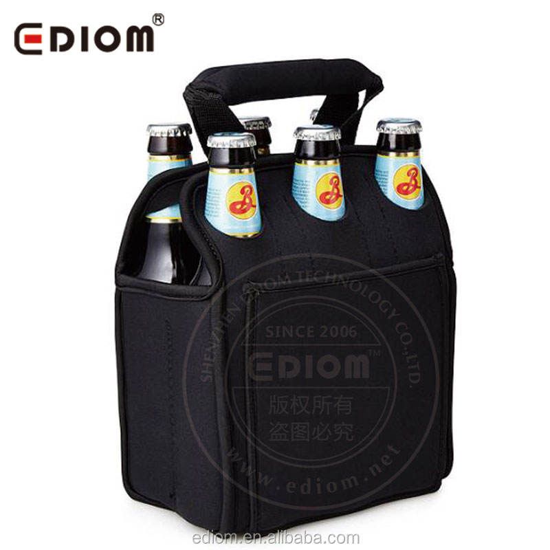 <span class=keywords><strong>Neoprene</strong></span> 6 Pack Bottiglia di <span class=keywords><strong>Birra</strong></span> Carrier | Six Pack Può Dispositivo di Raffreddamento Tote Bag