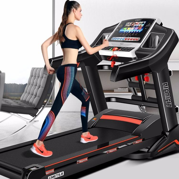 home motorized life fitness strength master treadmill