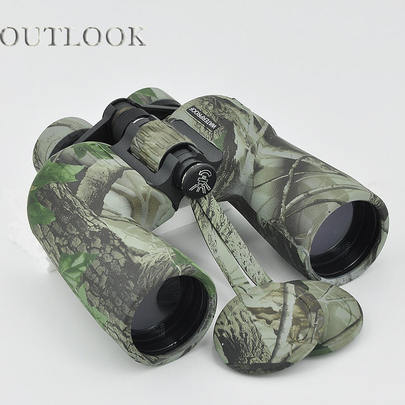 good quality binoculars 10x50 camouflage waterproof night scope binoculars