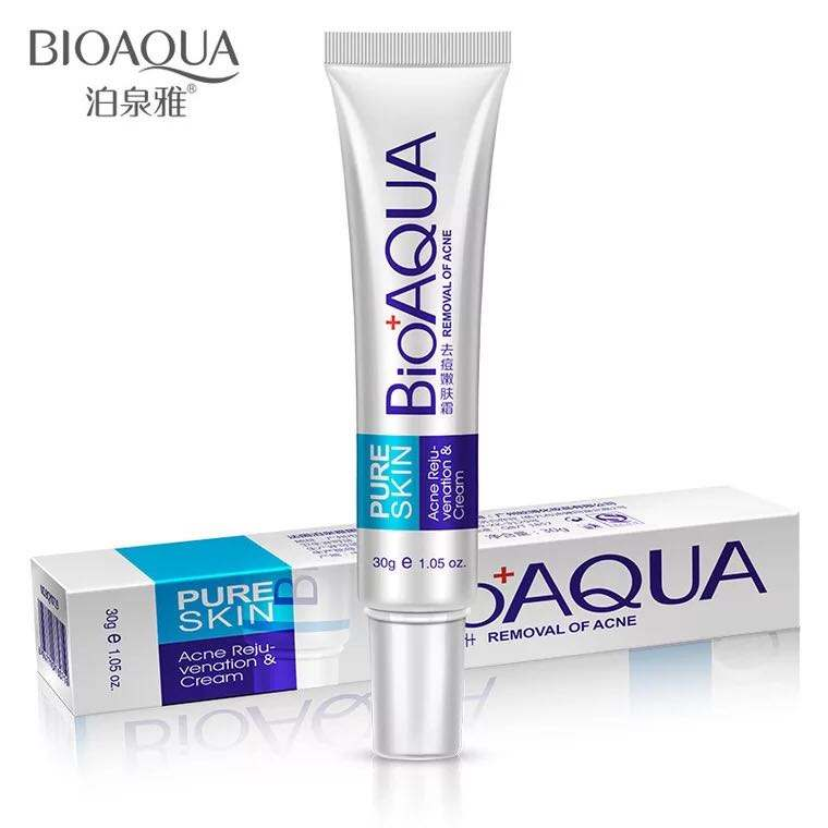 Oem Odm Bioaqua Hot Sale Natural Skin Care Pure Skin Remove Acne Cream