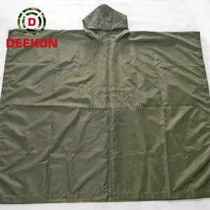 Militaire Groene Mens Pvc Regen Jas Met Custom Logo Buy