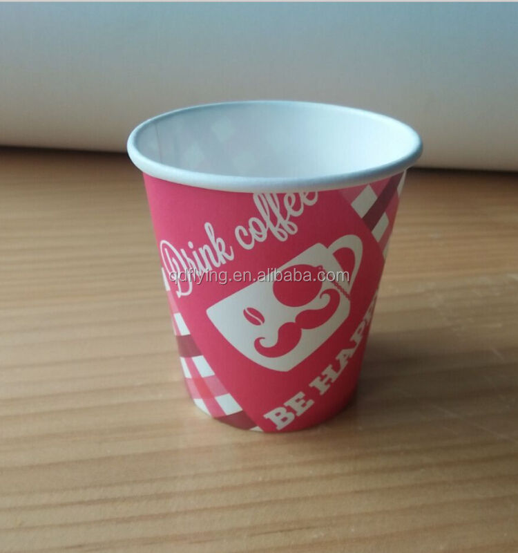 Disposable cone paper cup / paper soup cup / paper for cup Green paper cup