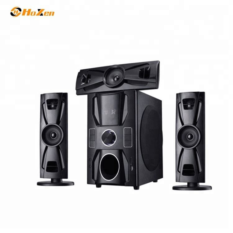 3.1 Audio Profesional Multimedia Kompak Komputer Multimedia Woofer Speaker dengan FM/USB/SD