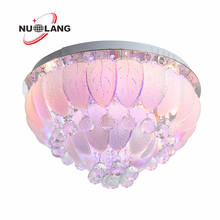 bluetooth remote control music crystal led ceiling lights with music