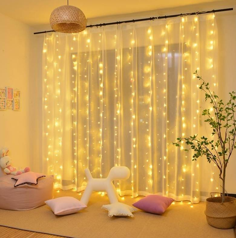 Twinkle Star 300 Led Gordijn String Vakantie Licht Voor Wedding Party Home Garden Slaapkamer Outdoor Indoor Decoratie
