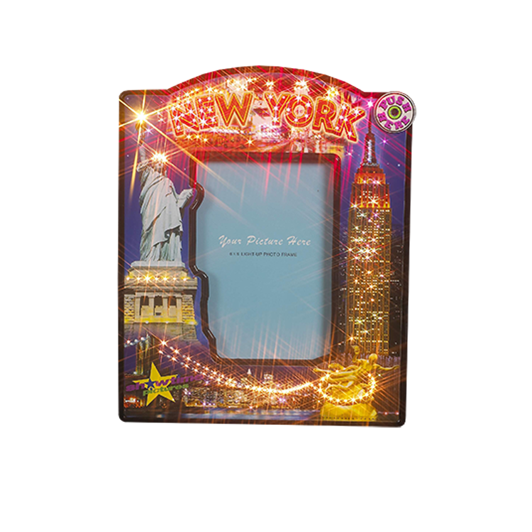 Новый дизайн, высокое качество Пользовательских 3D большой бумаги фоторамка со светодиодной подсветкой