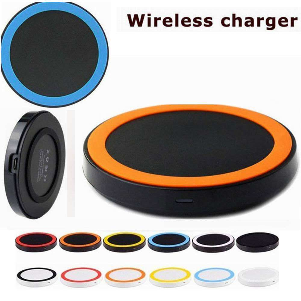Q5 Portabel Ultra Slim Qi Receiver Adapter Wireless Charger Pad Untuk Iphone X 8 Ditambah Samsung Galaxy S6 S7 S8 S9 <span class=keywords><strong>Tepi</strong></span>