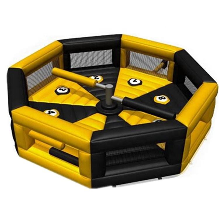 Wholesale inflatable meltdown with machine for sale outdoor inflatable meltdowm game for kids and adults