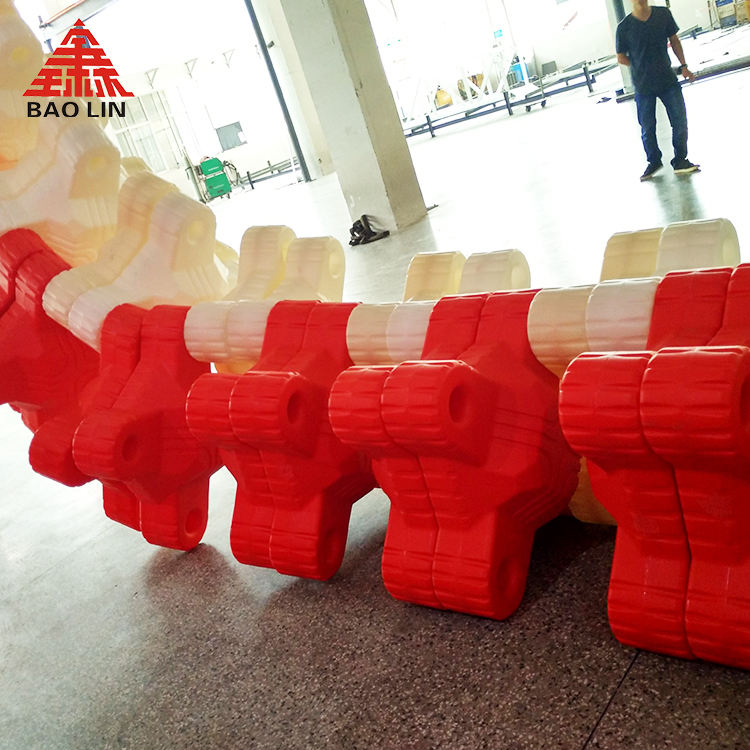 manufacturers polyethylene, HDPE plastic breakwater for rotomolding machine use in water floats high quality in China