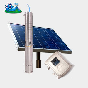 dc solar submersible pump 2 hp, 1500W solar powered irrigation pump, automatic water pump