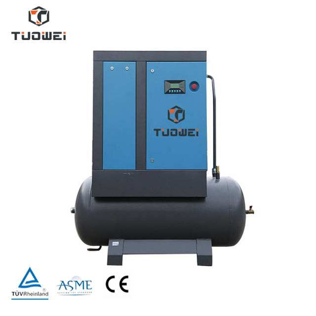 Industrial Rotary Screw air compressor with air drier
