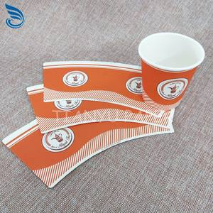 China supplier the cheapest virgin pulp raw material paper cup fan for making paper cup