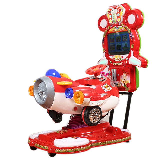 Coin operated arcade games for kids, video game arcade horse ride, PLANE arcade machine