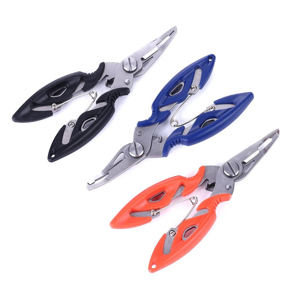 Fishing Scissors Multifunction Tool Curved Fishing Gear Plier