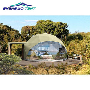 Glamping igloo 8m geodesic dome hotel camping tent with stove, View 8m geodesic dome tent, Hengnuo Tent Product Details from Guangzhou Hengnuo Tent
