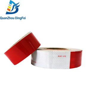 Custom Printed Dot C2 Road Waterproof Light Pvc Clear Ece 104 Infrared Reflective Tape Tap Conspicuity Tape For Vehicles