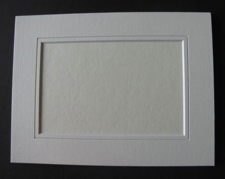photo mounting board with backing board